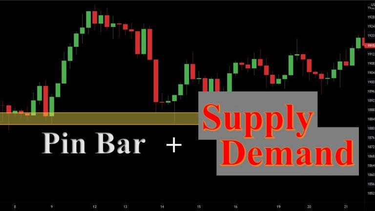 Giao Dịch Forex Chính Xác Với Pin Bar Kết Hợp Vùng Supply Demand